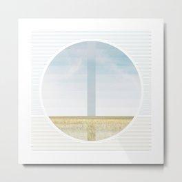 Great Plain Horizon - Gradient Metal Print