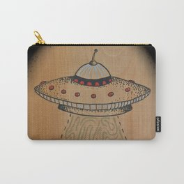Spaceship with Oval Border Carry-All Pouch