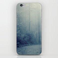 Wander in a Woodland Fog iPhone & iPod Skin