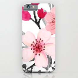 FLOWERS WATERCOLOR 11 iPhone Case