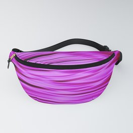 Pink streaked lines pattern Fanny Pack