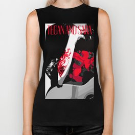 Tegan and Sara Ugly Sweater Party Biker Tank