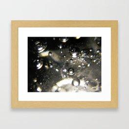 Bubbles and Light Framed Art Print