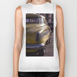 A Yellow Cab  Biker Tank