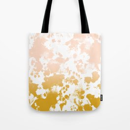 Essie - abstract minimal gold painting metallics home decor minimalist hipster Tote Bag
