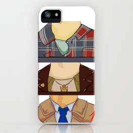 Sam, Dean, and Castiel (Supernatural)(Unofficial) iPhone Case