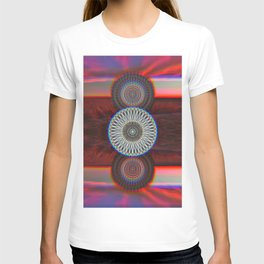 Three Mandalas T-shirt