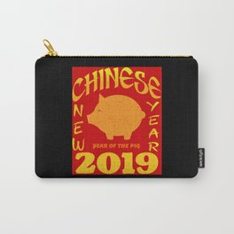 Chinese New Year 2019 - Year of the Pig Carry-All Pouch