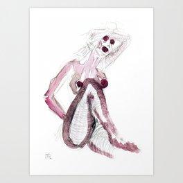 Sexy Ladies Art Print