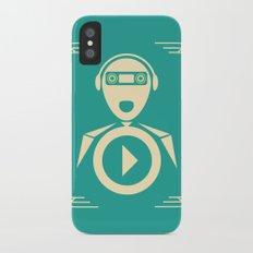 Music iPhone X Slim Case