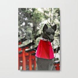 Inari Kami Metal Print