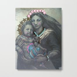 Religion.  Star Jesus Metal Print