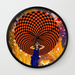 Confusion by Michael Moffa Wall Clock