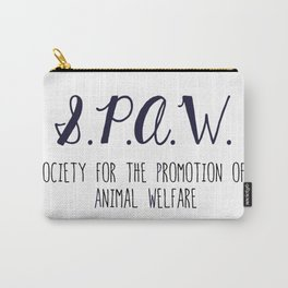 SPAW - Society for the Promotion of Animal Welfare Carry-All Pouch