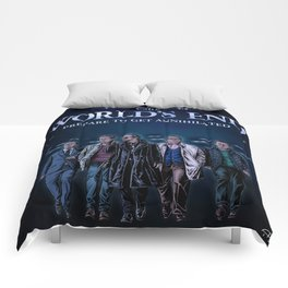 The World's End - Coloured Version Comforters