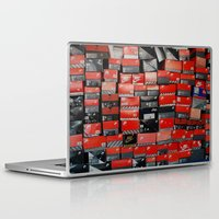 nike Laptop & iPad Skins featuring Vintage Nike Boxes by Mark B.