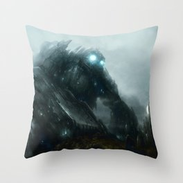 Approaching Enlightenment Throw Pillow