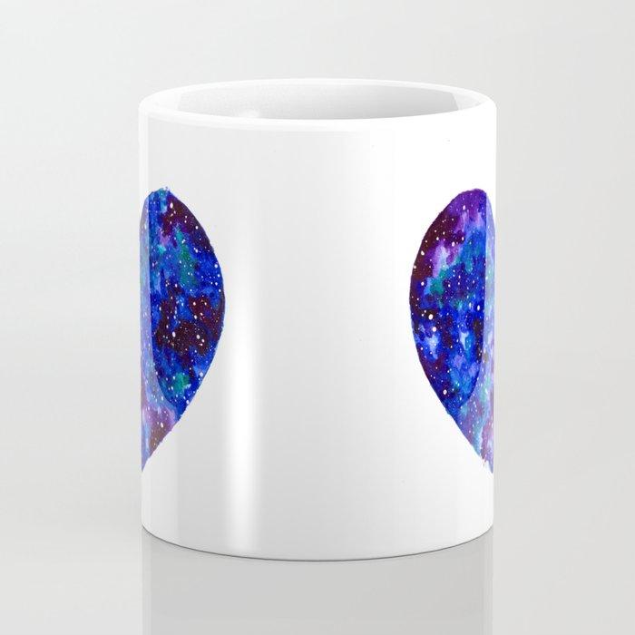 Space Heart Coffee Mug