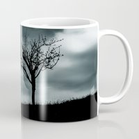 alone Mugs featuring Alone by Patrik Lovrin Photography