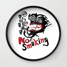 No Smoking - Monster Wall Clock
