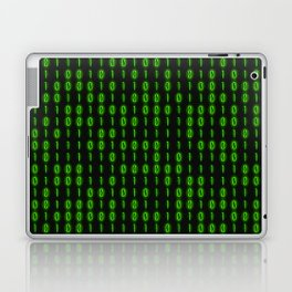 Binary Code Inside Laptop & iPad Skin