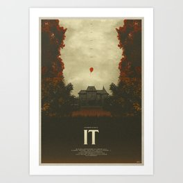 We All Float - It Art Print