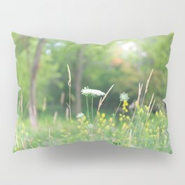 Wildflowers and the Woodland Pillow Sham