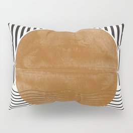 Abstract Modern Poster Pillow Sham