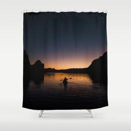 Sunrise Kayak Shower Curtain