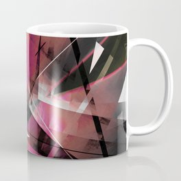 Echoes of Expansion - Geometric Abstract Art Coffee Mug