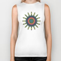 trippy Biker Tanks featuring Trippy by Lyle Hatch