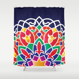 Qamarya Nights Shower Curtain