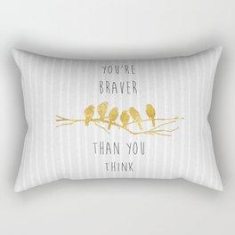 Brave Rectangular Pillow