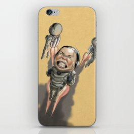 I need a goggle! iPhone Skin