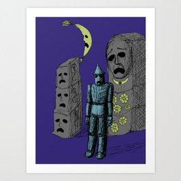 Decaying Wonderland VIII Art Print