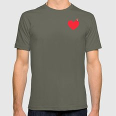 YOU ARE HERE X-LARGE Lieutenant Mens Fitted Tee