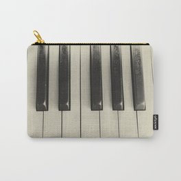 Vintage Piano Carry-All Pouch