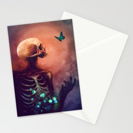I'm dying, I hope you're dying too Stationery Cards