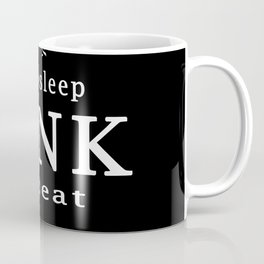 eat sleep RINK repeat Coffee Mug