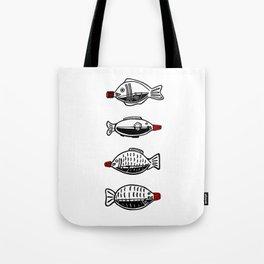 Soy Fish Bottles Tote Bag