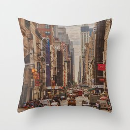 New York Dream Throw Pillow