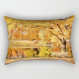 Autumn Solitude Rectangular Pillow