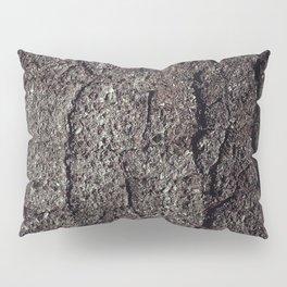 Cracked asphalt road Pillow Sham
