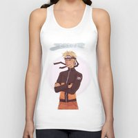 kakashi Tank Tops featuring Dattebayo! by Nowhere Little Girl