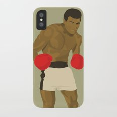 Cool image of a boxer iPhone X Slim Case