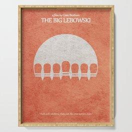 The Big Lebowski Serving Tray