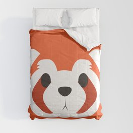 Red Ferret Block Comforters