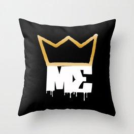 Modesty's End - Wht Crwn Throw Pillow