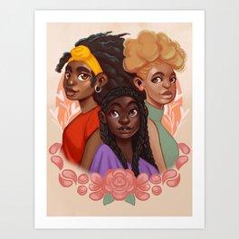Natural Crowns Art Print