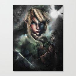 Legend of Zelda Link the Epic Hylian Canvas Print